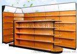 成都鋼木貨架製作廠定做成都鋼木木紋貨架