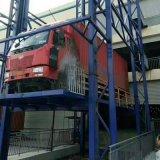 廠家直銷液壓升降貨梯導軌式防墜落升降平臺
