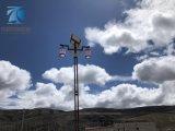 四川甘孜5米6米7米太陽能路燈,石渠縣太陽能路燈