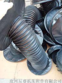 液压机械油缸活塞杆护罩|圆筒外形风琴式防护罩