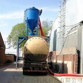 风力吸灰机自动抽送粉煤灰装罐车设备环保粉料输送机