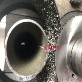 小型药厂不锈钢管电动切管机