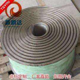 厂家供应 不绣钢网格输送带 食品输送带