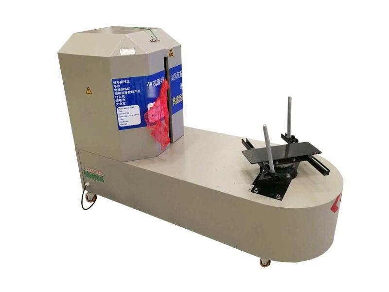 雲浮自動纏繞膜機可捆行李纏繞包裝機