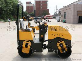 唐山1吨座驾式双钢轮压路机全液压驱动