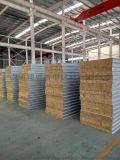 彩钢夹芯板 岩棉夹芯板 定制各种规格岩棉彩钢夹芯板