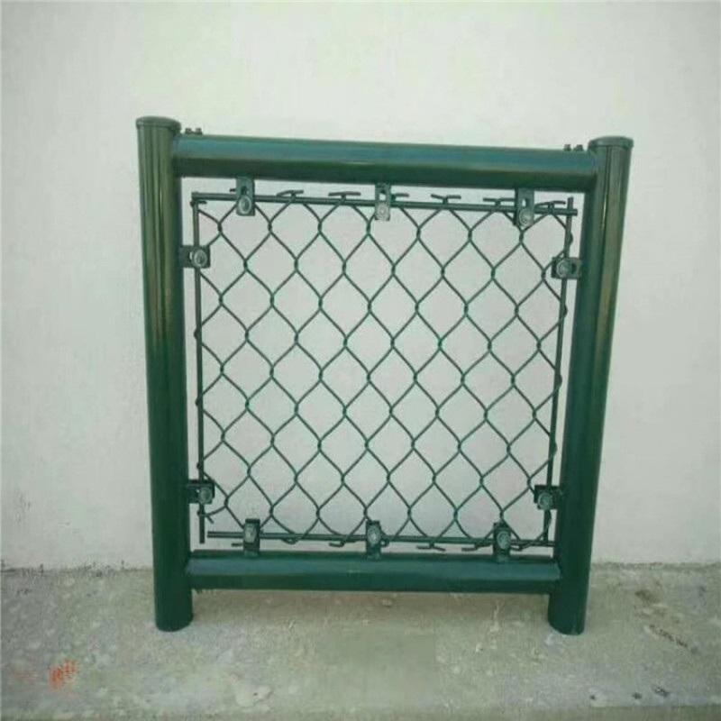 體育場圍網 包塑勾花圍網 運動場護欄操場圍欄