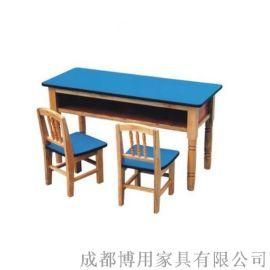 四川幼儿园防火板课桌 四川儿童防火板课桌厂家直供
