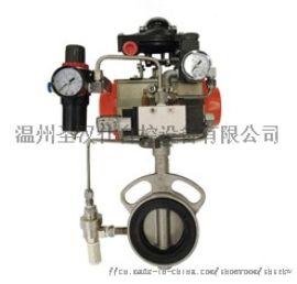 D671F气动膨胀式粉体蝶阀