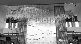酒店灯饰 非标楼工程灯 吊灯灯饰