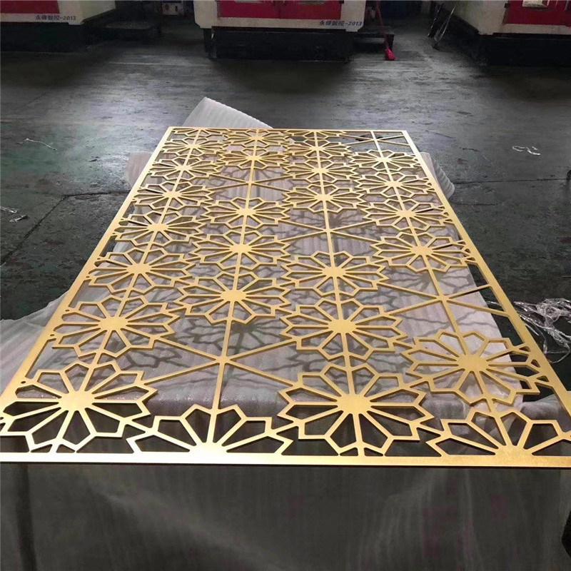 中式铝屏风特点 现代金属铝屏风有哪些优势