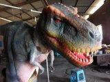 創意互動侏羅紀霸王龍主題園設備租賃