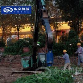 挖机螺旋钻 工程建设作业中钻孔挖坑的利器