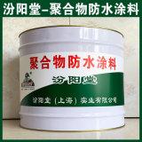 聚合物防水塗料、塗膜堅韌、粘結力強、抗水滲透