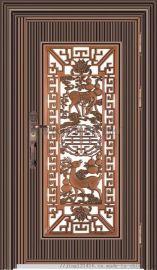 罗马柱304不锈别墅小区进户門不鏽鋼入户門