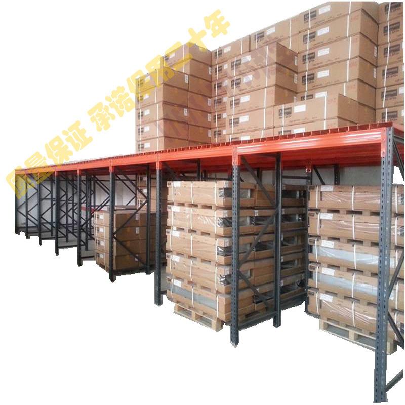 海丰仓储货架搭建平台,海丰仓库阁楼,海丰货架厂