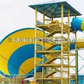 水上乐园设备 水上滑梯 戏水小品 水屋水寨