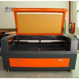 深圳双头激光切割机CO2布料皮革塑料激光雕刻切割机