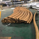 上海仿竹管鋁護欄隔斷 20公分竹節鋁合金護欄