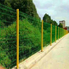 广特三角折弯护栏网  美观耐用
