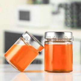 蜂蜜瓶玻璃瓶密封瓶透明瓶食品瓶储物瓶燕窝瓶果酱瓶