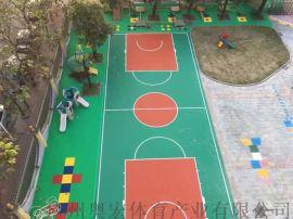 幼儿园彩色人造草地面球场坪施工建设厂家,环保耐用