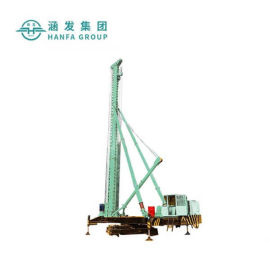 HFZL40履带式长螺旋钻机, 履带行走钻机