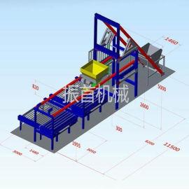 甘肃平凉水泥预制件生产线水泥预制件布料机