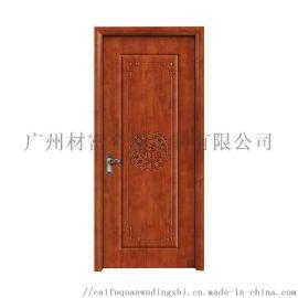 平开门橡木门卧室门实木别墅门欧式办公室隔音木门厂家