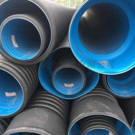 湖南中财市政管道 HDPE波纹管现货 中财管质量