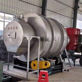 15吨三筒沙子烘干机三回程砂子烘干机干粉砂浆设备