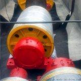 DTⅡA型加重型包膠改向滾筒 一米皮帶包膠改向滾筒