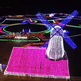 春节元宵节节日灯光节 梦幻灯光节 LED灯光造型
