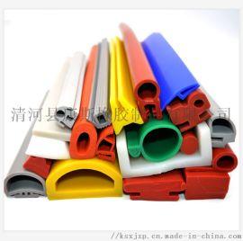 异型硅胶密封条 耐高温硅胶制品 可来图来样定制