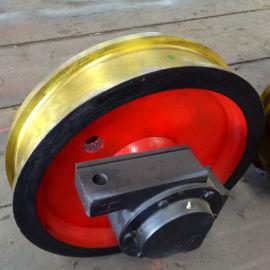 起重配件销售车轮组QD双梁起重机行走行车轮型号齐全