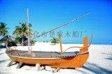 南京木船廠家出售山東濟南室內景觀裝飾船