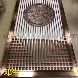 上海不锈钢屏风加工,彩色304不锈钢屏风厂家