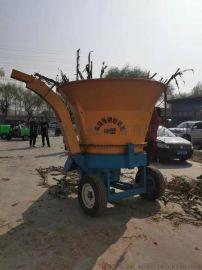 圆盘草捆粉碎机,稻草秸秆粉碎机,农作物秸秆粉碎机