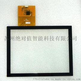 8寸投射电容屏, 工业级触摸屏, 抗干扰强