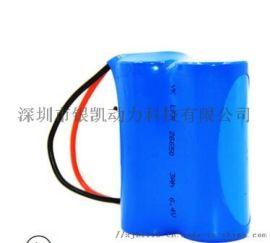 6.4V 3ah磷酸铁 一体化路灯电池小太阳能电池