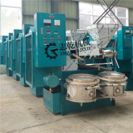 粮油加工机器 螺旋炸油机 油菜籽榨油机 冷热榨油机