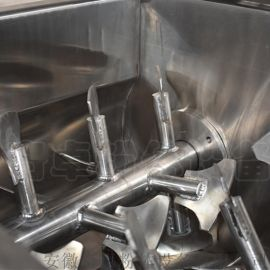 气相白炭黑矿业双轴桨叶无重力混合机
