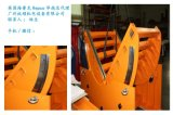 V型滾輪圓弧導軌在重型齒輪箱翻轉臺上的應用