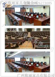 哪里可以定做大小型升降会议桌-广州欧丽家具