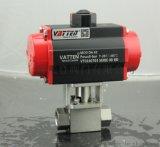 中德合資耐高壓氣動高壓球閥