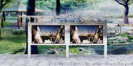 安徽佳旭标牌厂家直销室内外不锈钢宣传栏定制
