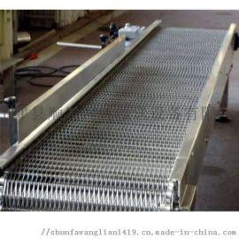 直销塑料链板输送机
