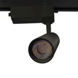 轨道灯 COB射灯 led天花灯 明装背景墙轨道灯