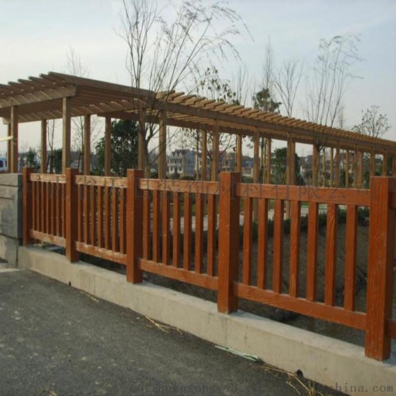 水泥仿木栏杆、水泥仿木栏杆制作流程