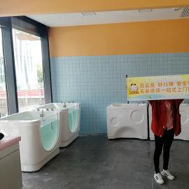 武汉婴儿游泳浴缸,母婴店大泳池,亚克力婴儿洗澡盆